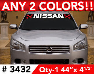 NISSAN NISMO MAXIMA ALTIMA 370Z DECAL STICKER 42