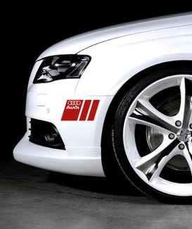 2 Audi A3 A4 A5 A6 A8 S4 S5 S6 RS4 Q3 Q5 S-Line Aufkleber