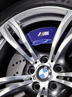 BMW M Brake Caliper 2 size M3 M5 M6 325 328 540 Decal sticker Cu
