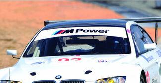 BMW M M3 M5 M6 Power Motorsport E36 E39 E46 E63 E90 Aufkleber