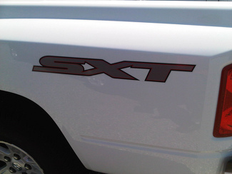 2 - SXT DODGE RAM TRUCK FENDER SET Vinyl Decal Stickers
