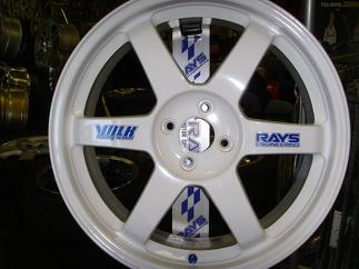 Volk Racing Wheel Decals racing vinyl decal sticker TE37