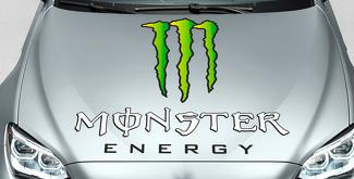Monster Energy Drinks Logo hood decal sticker full color