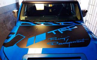 Toyota FJ Cruiser hood decal trd racing development Sticker