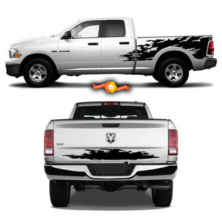Dodge Ram RAGE Vinyl Graphics Decals Stickers Stripes