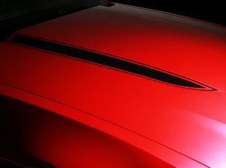 Ford Mustang Hood Spears Streifen Streifen Abziehbilder Paar Grafiken