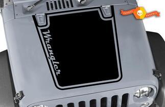 Jeep JK klassische grafische Motorhaube Aufkleber Aufkleber CJ YJ TJ JK Vinyl Aufkleber