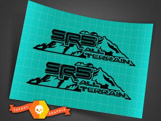 TOYOTA SR5 4x4 All Terrain Decal Mountain TRD Racing Development Side Vinyl Decal Sticker 3