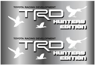 2 TOYOTA TRD HUNTER EDITION DECAL DECAL Mountain TRD racing development side vinyl decal sticker 3
