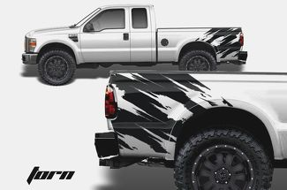 F-150 FORD RAPTOR SVT 2019 GMC Sierra DIGITAL MUD SPLASH DECAL GRAPHICS DECALS STICKERS CHATTER-1