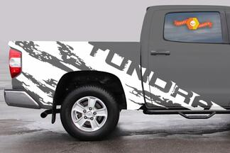 Very large mud splash Toyota TUNDRA vinyl decals stickers graphics