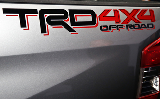 2 side Toyota TRD Truck Off Road 4x4 Toyota Racing Tacoma Decal Vinyl Sticker#2