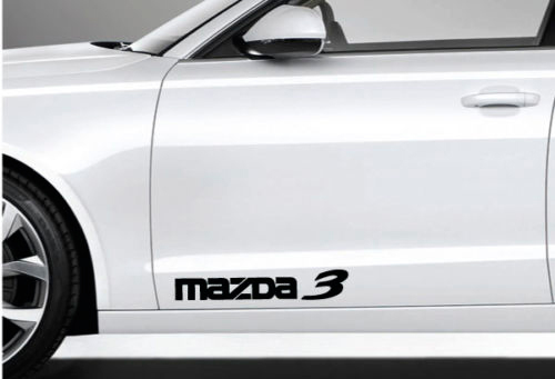 2 Mazda 3 Decal Sticker Logo Emblem Mazdaspeed Mazda3