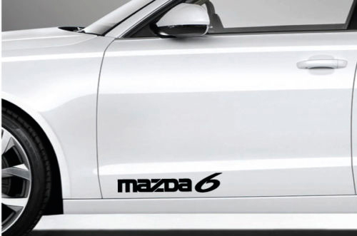 2 Mazda 6 Decal Sticker Logo Emblem Mazdaspeed Mazda6