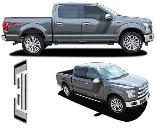 Quake Ford F-150 Hockey Tremor Style Decals Stripes Vinyl Graphics