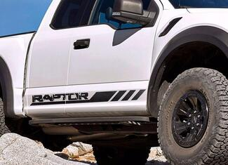 Ford F-150 Raptor 2017 graphics side stripe decal