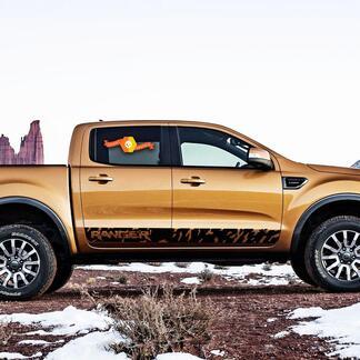 Ford Ranger Logo Wild Side Stripe Grafik Aufkleber Aufkleber