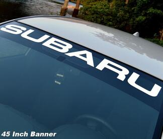 SUBARU Windshield Vinyl Decal sticker Window decal graphic impreza STI WRX JDM 1