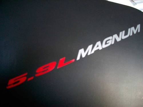 5,9 l MAGNUM - AUFKLEBER Aufkleber Motorhaube Kotflügel Heckklappe Emblem Stil Logo 360 ci V8