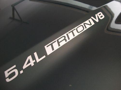 5,4 l Triton V8 Ford F150 F250 F350 FX4 Motorhaubenaufkleber 02 03 04 05 06 07 08 09 2010