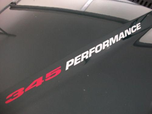 345 LEISTUNG (Paar) Dodge Ram Ladegerät Magnum Hemi Aufkleber Aufkleber Emblem V8