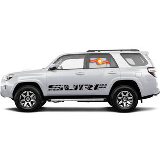 Toyota 4Runner Surf retro style graphics side stripe decal stickers