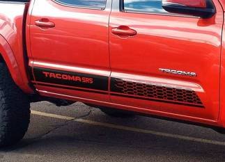 Toyota TACOMA 2016 SR5 style graphics Side stripe decal