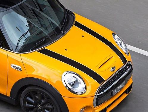 Mini Cooper F56 hood stripes graphics decal John Cooper Works stripe-1