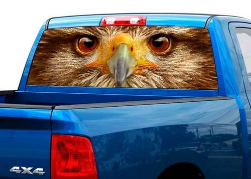 Eagle eyes Rear Window Decal Sticker Pick-up Truck SUV Caruck SUV Car
