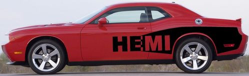 2012 2011 2010 2014 2008 2013 CHALLENGER BILLBOARD Decal Graphic Vinyl 2009 HEMI