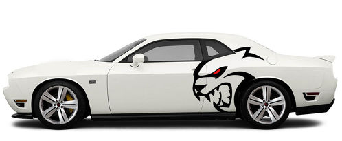 HUGE TRIBAL Decals Graphics Vinyl CHALLENGER MOPAR SRT HELLCAT LOGO HEMI 392