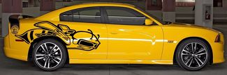HUGE 2012 Decal Graphics Vinyl CHARGER MOPAR SRT SUPER BEE HEMI 2013 2014 392