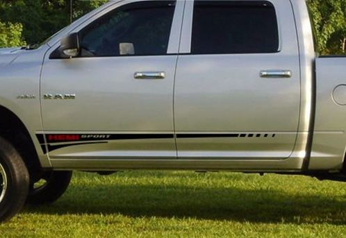 Dodge Ram 1500 Hemi Sport Graphics Side stripe Decal