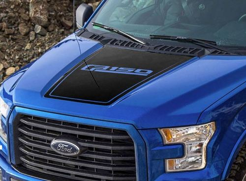 Ford F-150 2015-2016 F150 hood graphics side stripe decal sticker