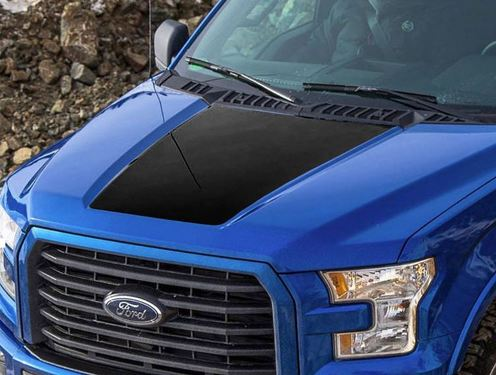 Ford F-150 2015-2016 F150 hood graphics side stripe decal sticker 3
