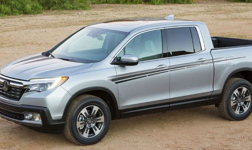 Honda Ridgeline 2016 side stripe decal graphics