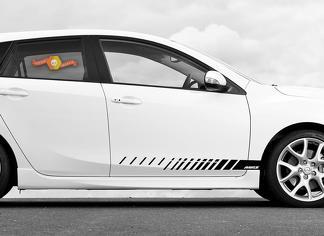 Mazda 6 MPS Türverkleidung Seitenstreifen Grafik Aufkleber MazdaSpeed
