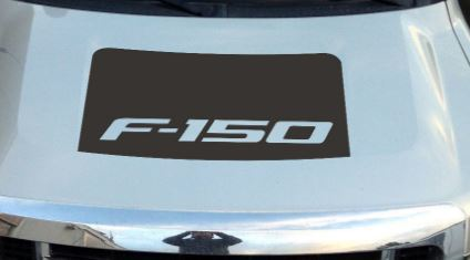 Ford F150 Blackout Vinyl Hood Decal fits 2009-2014 F150 Trucks