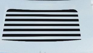 Ford F150 Blackout Vinyl Hood Stripes Decal fits 2009-2014