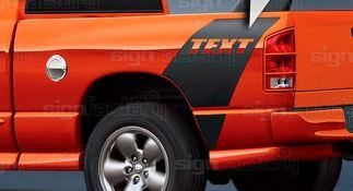 Dodge Ram Daytona Style Stripes 2002 2003 2004 2005 2006 2007 2008 2009 2010 11