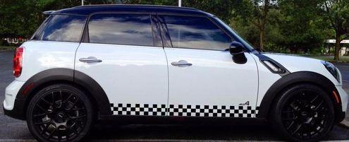 Aufkleber Aufkleber Seitenstreifen für Mini Countryman R60 John Cooper Works Racing Body