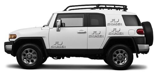 FJ CRUISER Shadow Toyota Decal Vinyl Side Door Graphics  1