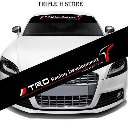 TRD Windshield Banner Decal Car Sticker for Toyota