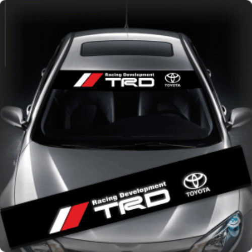 TRD HKS Dakar GT Ralliart Windows - Windshield Car Sticker Decal