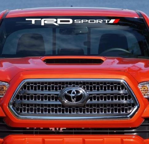TRD SPORT WINDSHIELD DECAL