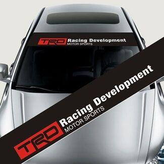 TRD Front Windschutzscheibe Banner Aufkleber Auto Aufkleber für Toyota