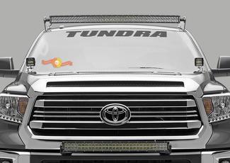 Tundra Front Windschutzscheibe Banner Aufkleber Aufkleber 36 Toyota Truck Off Road Sport 4x4