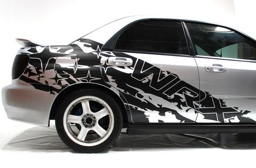 Subaru Impreza STI WRX SPLASH Vinyl Aufkleber Wrap Kit