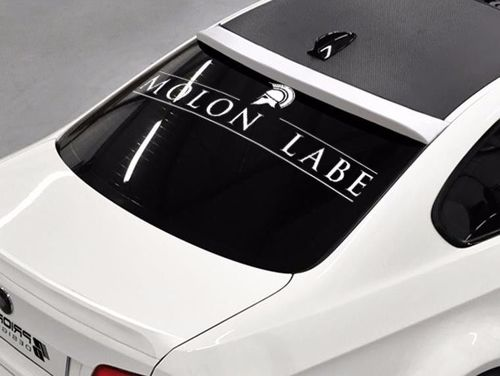 Molon Labe Come and take it rear window hood body logo vinyl Stickers Decals 111