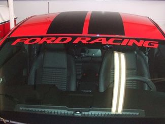 FORD RACING Windshield Banner  Sticker, decal, Shelby, GT, Cobra, 4.6,
